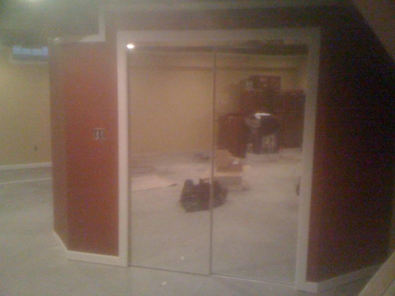 installed mirror doors and trimwork in Farmington Hills