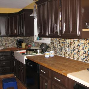 opposite side of kitchen remodel in Oakland County