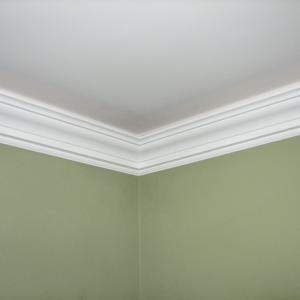 crown molding uplighting installation