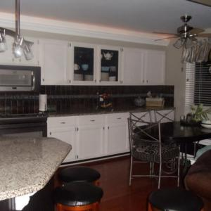 final remodeled kitchen full view